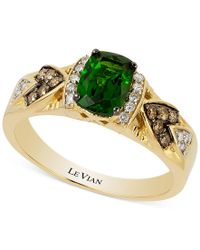 Le Vian | Metallic Chrome Diopside (3/4 Ct. T.w.) And Diamond (1/6 Ct. T.w.) Ring In 14k Gold | Lyst
