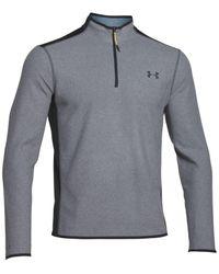 Under Armour | Gray Men's Coldgear Infrared 1/4 Zip Fleece for Men | Lyst