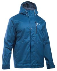 Under Armour | Blue Men's Coldgear Porter Jacket for Men | Lyst