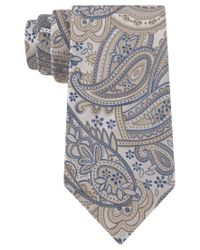 Geoffrey Beene | Gray Totally Paisley Tie for Men | Lyst