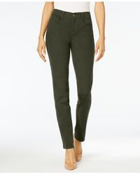 Style & Co. - Green Tummy-control Slim-leg Jeans - Lyst