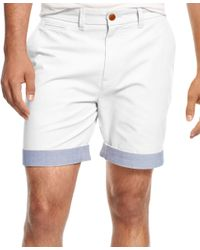 Tommy Hilfiger | White Custom-fit Chino Shorts for Men | Lyst