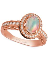 Le Vian | Pink Opal (2/3 Ct. T.w.) And Diamond (5/8 Ct. T.w.) Ring In 14k Rose Gold | Lyst