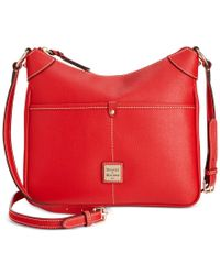 Dooney & Bourke | Red Saffiano Kimberly Crossbody | Lyst