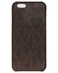 Michael Kors | Brown Shadow Wrap Around Phone Cover for Men | Lyst