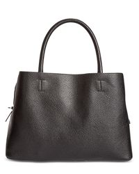 Steve Madden - Black Emma Medium Satchel - Lyst