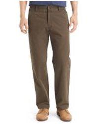 G.H. Bass & Co. | Brown Canvas Terrain Pants for Men | Lyst