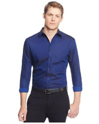 INC International Concepts | Blue Men's Joshua Non-iron Shirt, Only At Macy's for Men | Lyst