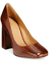 Nine West | Brown Begonia Pumps | Lyst