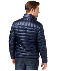INC International Concepts | Blue Irridescent Down Jacket for Men | Lyst