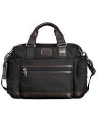 Tumi | Brown Alpha Bravo Brooks Slim Briefcase for Men | Lyst