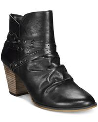 Bella Vita | Black Kiki Ankle Booties | Lyst