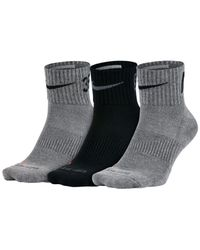 Nike - Black 3 Pack for Men - Lyst
