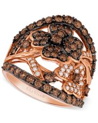 Le Vian | Pink Diamond Flower Ring (1-3/4 Ct. T.w.) In 14k Rose Gold | Lyst