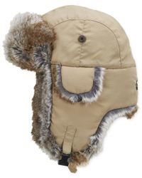 Woolrich | Natural Water Resistant Supplex Nylon Trapper Hat for Men | Lyst