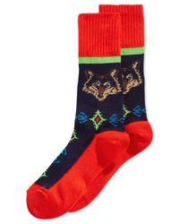 Hot Sox | Multicolor Wolf Boot Socks for Men | Lyst