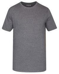 Hurley | Gray Men's Staple Dri-fit Premium Graphic-print Logo T-shirt for Men | Lyst