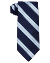 Brooks Brothers | Blue Bar Stripe Tie for Men | Lyst