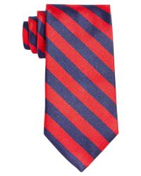 Brooks Brothers | Red Thick Stripe Tie for Men | Lyst