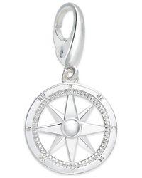 Giani Bernini | Metallic Compass Charm In Sterling Silver | Lyst