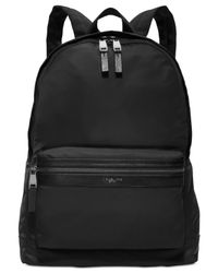 Michael Kors   Black Kent Lightweight Nylon Backpack for Men   Lyst
