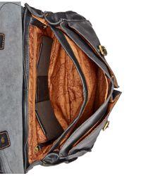 Patricia Nash - Black Men's Leather Dowel Briefcase - Lyst