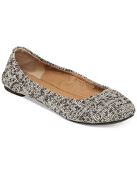 Lucky Brand - Gray Emmie Flats - Lyst
