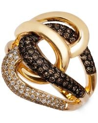 Le Vian | Metallic Chocolatier® Diamond Twist Ring (1 Ct. T.w.) In 14k Gold | Lyst