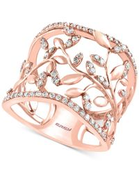 Effy Collection | Pink Diamond Vine Band (1/2 Ct. T.w.) 14k Rose Gold | Lyst