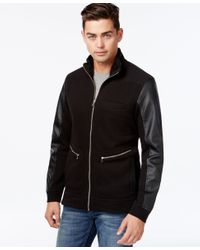 INC International Concepts | Black Men's The Faux-fur Lined Jacket, Only At Macy's for Men | Lyst
