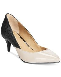 Calvin Klein | Black Women's Patna Pumps | Lyst