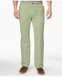 Tommy Bahama   Green Men's Montana Flat-front Pants for Men   Lyst