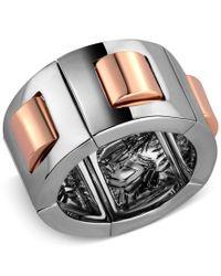 T Tahari | Metallic Hematite-tone Stretch Ring | Lyst