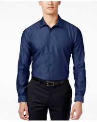 INC International Concepts | Blue Men's Blake Long-sleeve Non-iron Shirt, Only At Macy's for Men | Lyst