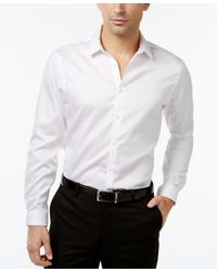 INC International Concepts | White Men's Jayden Non-iron Shirt, Only At Macy's for Men | Lyst
