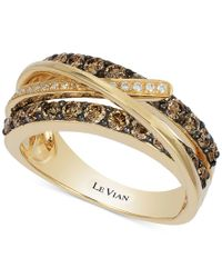 Le Vian - Metallic Chocolatier Gladiator Diamond Ring (1 Ct. T.w.) In 14k Gold - Lyst