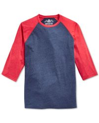 American Rag | Blue Men's Everyday Baseball T-shirt, Only At Macy's for Men | Lyst
