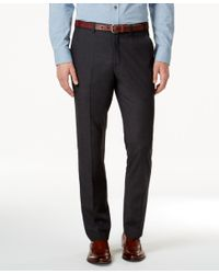 American Rag   Gray Men's Flat Front Dressy Pants, Only At Macy's for Men   Lyst