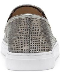 Vince Camuto - Gray Becker Slip-on Sneakers - Lyst