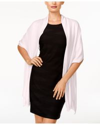 INC International Concepts | Pink Wrap & Scarf In One, Only At Macy's | Lyst