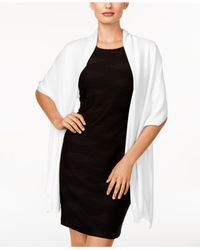 INC International Concepts | White Wrap & Scarf In One, Only At Macy's | Lyst