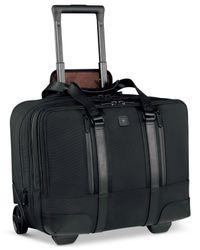 "Victorinox | Black Victorinox Lexicon Professional Century 15.6"" Overnight Rolling Laptop Case | Lyst"