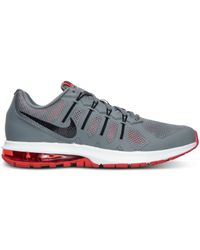 Nike - Gray Men's Air Max Dynasty Running Sneakers From Finish Line for Men - Lyst