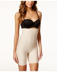 Spanx | Natural Thinstincts Firm Control High-waist Shaper Shorts 10006r | Lyst