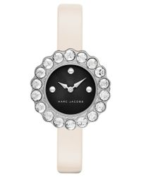 Marc Jacobs - White Women's Tootsie Pink Leather Strap Watch 30mm Mj1443 - Lyst
