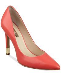 Guess - Red Women's Babbitta Pointed-toe Pumps - Lyst