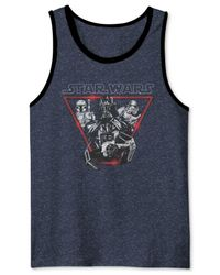 Jem - Blue Men's Star Wars Darth Vader Go Imperial Graphic-print Tank From for Men - Lyst