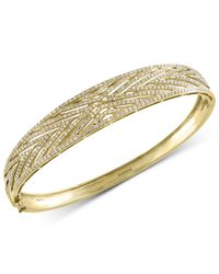Effy Collection - Metallic Diamond Bangle Bracelet (1-1/2 Ct. T.w.) In 14k Gold - Lyst