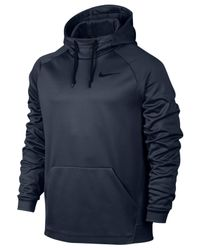 Nike   Blue Therma Men's Training Hoodie for Men   Lyst