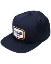 Volcom | Blue Men's Cresticle Snapback Logo Hat for Men | Lyst